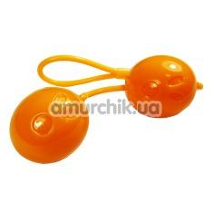 Купить Вагинальные шарики Spooky Love оранжевые