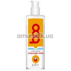 Массажный лубрикант Boo Waterbased Massage-Lube 2-in-1, 50 мл - Фото №1