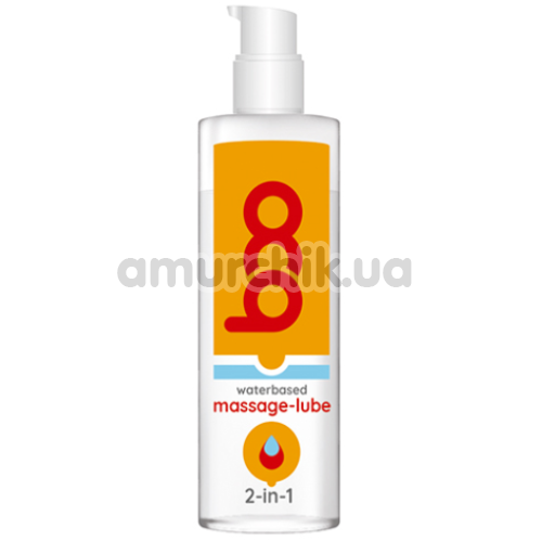 Массажный лубрикант Boo Waterbased Massage-Lube 2-in-1, 50 мл