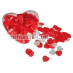 Конфетти для ванной Hearts Bath Confetti, красное
