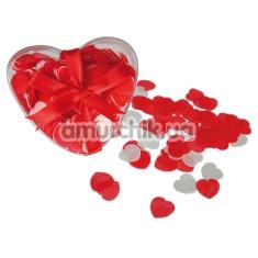 Конфетти для ванной Hearts Bath Confetti, красное - Фото №1