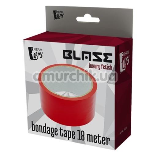 Бондажная лента Blaze Luxury Fetish Bondage Tape 18 Meter, красная