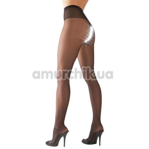 Колготки Cottelli Collection Strumpfhose Ouvert Tights (2510030), чёрные
