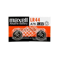 Батарейки Maxell LR44 Alkaline Battery, 2 шт - Фото №1