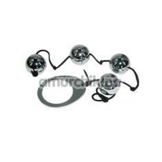 Анальные шарики Heavy Metal Anal Beads - Фото №1