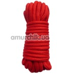 Веревка sLash Bondage Rope Red, красная
