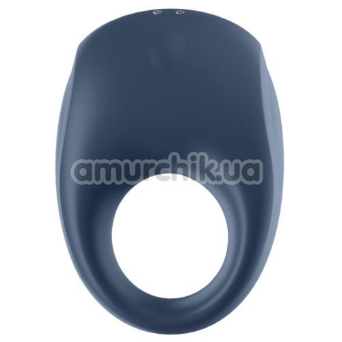 Виброкольцо Satisfyer Strong One Ring Vibrator, синее