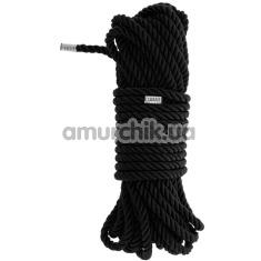 Веревка Blaze Deluxe Bondage Rope 10м, черная - Фото №1