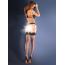 Чулки Gabriella Erotica Calze 155, чёрные - Фото №2