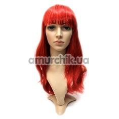 Парик Red Queen, красный - Фото №1