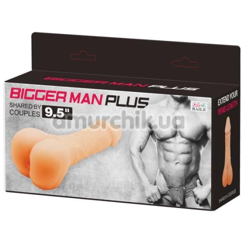 Анус-мастурбатор Bigger Man Plus 9.5, телесный