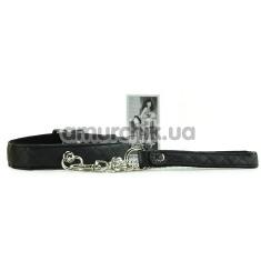 Ошейник с поводком Bettie Page Collar Me Bondage Collar and Lead Set, черный - Фото №1