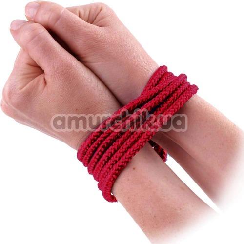 Веревка sLash Bondage Rope Red 3м, красная