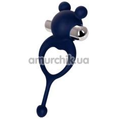 Виброкольцо JOS Mickey, синее - Фото №1