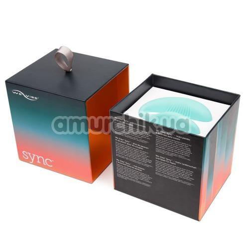 Вибратор We-Vibe Sync (ви вайб синк бирюзовый)