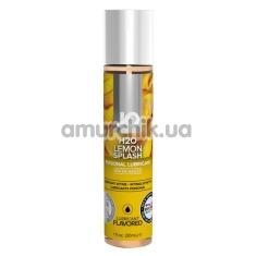 Оральный лубрикант JO H2O Lemon Splash - лимон, 30 мл - Фото №1