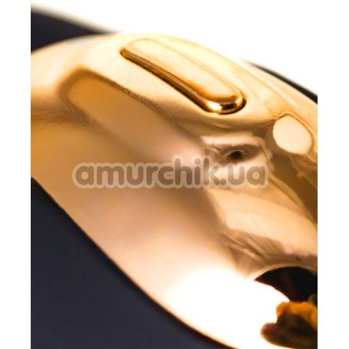 Клиторальный вибратор Waname D-Splash Wave, золотой