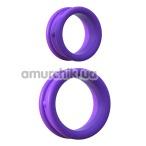 Набор эрекционных колец Fantasy C-Ringz Max-Width Silicone Rings, фиолетовый - Фото №1