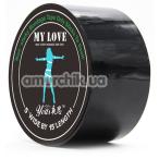 Бондажная лента Loveshop My Love, черная - Фото №1