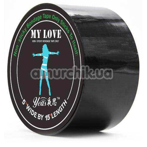Бондажная лента Loveshop My Love, черная