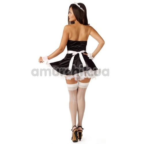 Костюм горничной LeFrivole Maid Costume (283655), чёрный