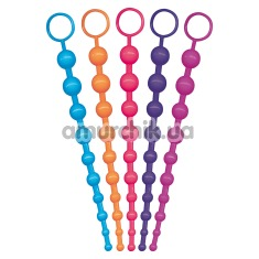 Анальная цепочка Funky Bum Beads в ассортименте - Фото №1