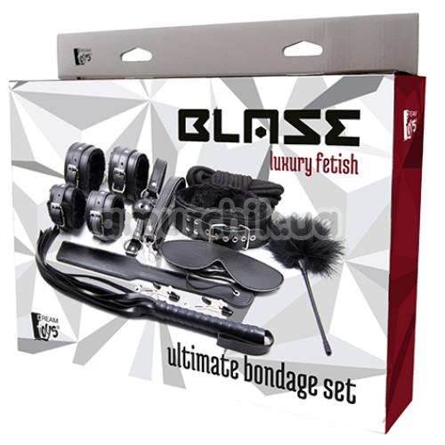 Бондажный набор Blaze Luxury Fetish Ultimate Bondage Set, черный