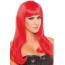 Парик Be Wicked Wigs Pop Diva, красный
