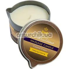 Массажная свеча Amor Vibratissimo Massage Candle Caramel Cream - карамельный крем, 50 мл - Фото №1
