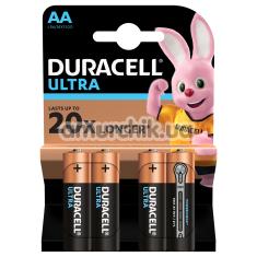 Батарейки Duracell Ultra AA, 4 шт - Фото №1