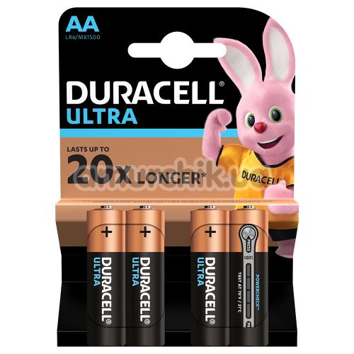 Батарейки Duracell Ultra AA, 4 шт