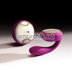 Вибратор Lelo Ida Deep Rose (Лело Ида), фиолетовый