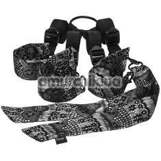 Фиксаторы Steamy Shades Under the Bed Ties, чёрные - Фото №1