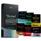 Набор возбуждающих гелей с эффектом вибрации Intt Vibration Six Flavor Mix, 12 х 5 мл. - Фото №1