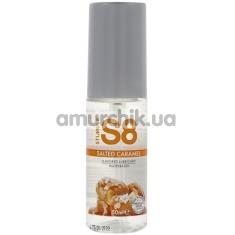Оральный лубрикант Stimul8 Flavored Lube - соленая карамель, 50 мл