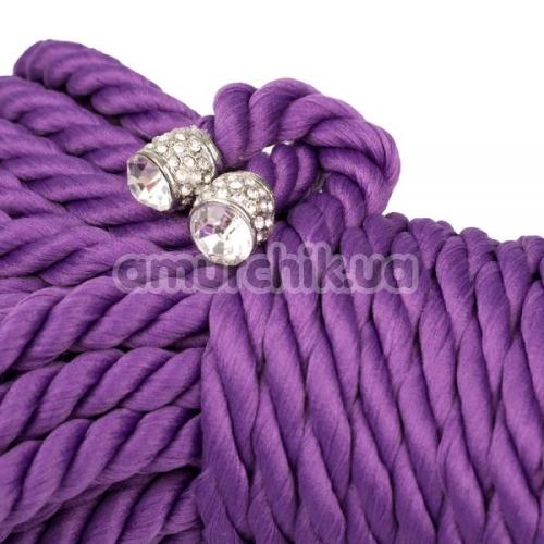 Веревка sLash Premium Silky 10м, фиолетовая