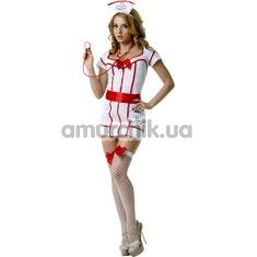 Костюм медсестры LeFrivole Nurse Costume (02896), белый - Фото №1