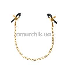 Зажимы для сосков Fetish Fantasy Gold Chain Nipple Clamps, золотые