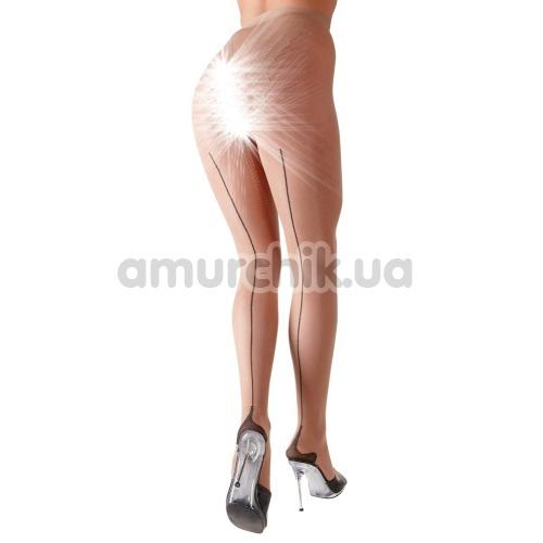 Колготки Cottelli Collection Strumpfhose Ouvert Tights (2510073), телесные - Фото №1