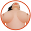 Секс-кукла с вибрацией Angelina - Фото №3