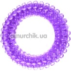 Кольцо-насадка Pure Arousal фиолетовое с пупырышками - Фото №1