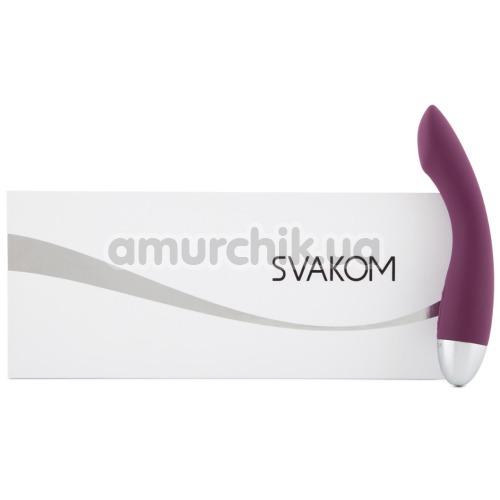 Вибратор для точки G Svakom Amy, фиолетовый
