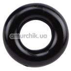 Эрекционное кольцо Super Energy, черное - Фото №1