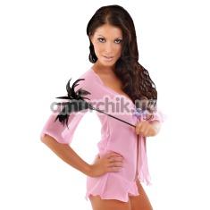 Купить Комплект Velia розовый: пеньюар + трусики-стринги (модель 1716)