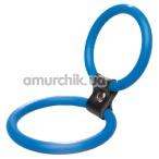 Набор эрекционных колец Menz Stuff Dual Rings, 2 шт голубые - Фото №1