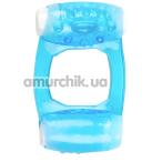 Виброкольцо Brazzers RС008, голубое - Фото №1