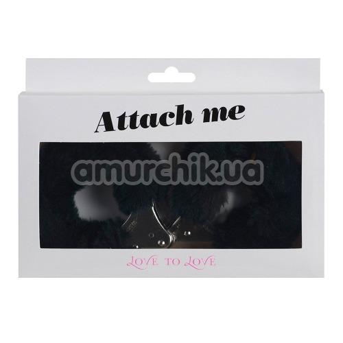 Наручники Love To Love Attach Me, черные