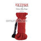 Верёвка Fetish Fantasy Series Deluxe Silky Rope, красная