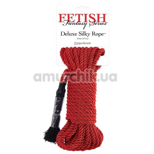 Верёвка Fetish Fantasy Series Deluxe Silky Rope, красная