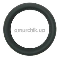 Эрекционное кольцо Hombre Snug-Fit Silicone C-Band, черное - Фото №1